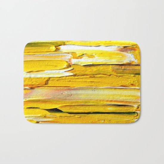 Yellow Bath Mat