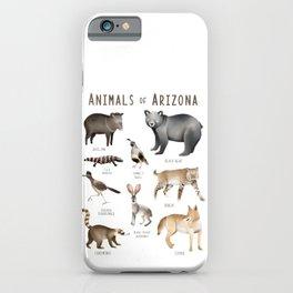 Animals of Arizona iPhone Case
