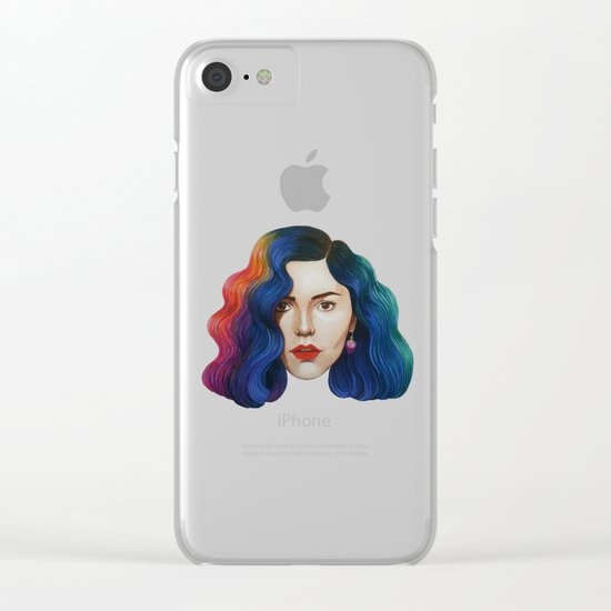 Marina Clear iPhone Case