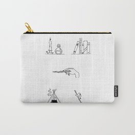 Witch Halloween Themed Design Carry-All Pouch