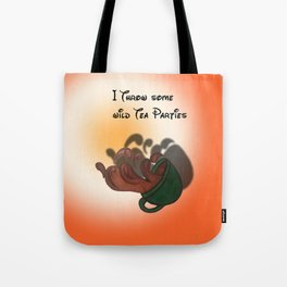 Wild TeaParties Tote Bag