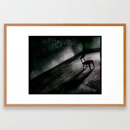 Chair (vacancy zine) Framed Art Print