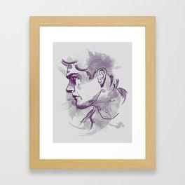 Dean Winchester   Firewall Framed Art Print