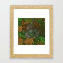 Camo Abstract Framed Art Print