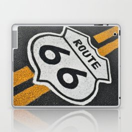 Route 66 sign. Laptop & iPad Skin