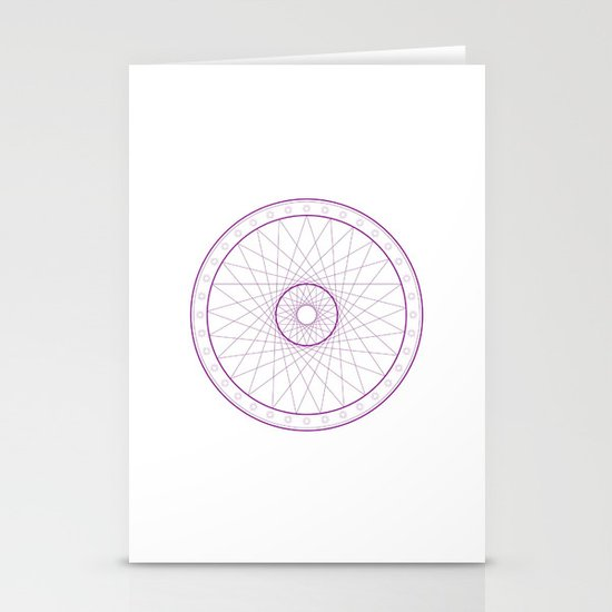 Anime Magic Circle 15 Stationery Cards