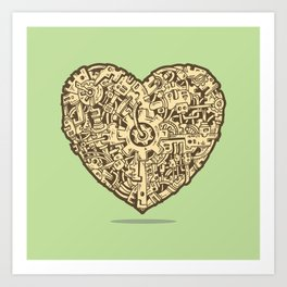 The Power of Love Art Print