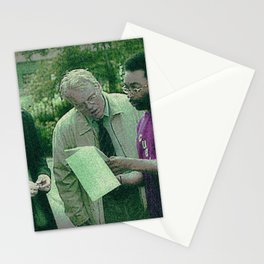 A Script For Ed & Philip By A Spike Stationery Cards