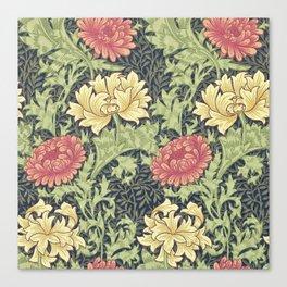 William Morris Chrysanthemum Canvas Print