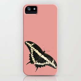 Butterfly Illustrated Print iPhone Case