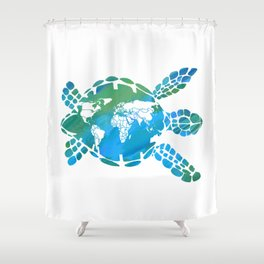 Mother Earth II Shower Curtain