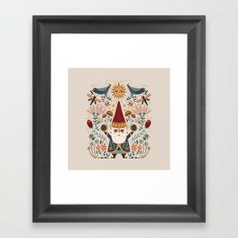 Gnome Life Framed Art Print
