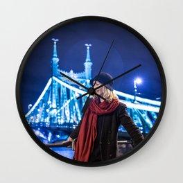 Le fabuleux destin d'Ines Poulain Wall Clock