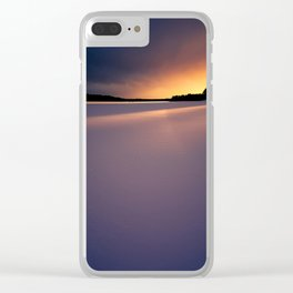 Sunset. Clear iPhone Case