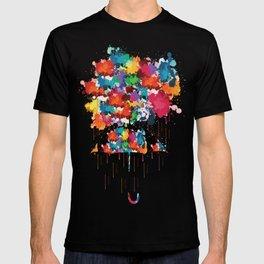 Rainbow rainy day T-shirt