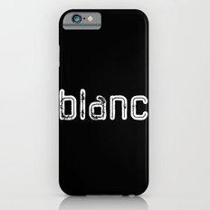 BLANC in NOIR iPhone 6s Slim Case