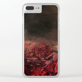 Morphing Mars Clear iPhone Case
