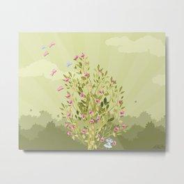 Just One flower Metal Print