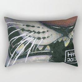 Tiger Eye Rectangular Pillow