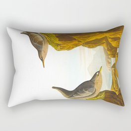 Columbian Water Ouzel Rectangular Pillow