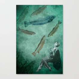 Smell of the sea Canvas Print