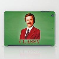 classy iPad Cases featuring CLASSY by John Medbury (LAZY J Studios)