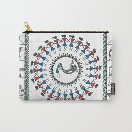 Warli Tarpa Dance in Village Carry-All Pouch