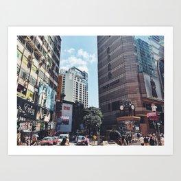 TIMESQUARE HONGKONG Art Print