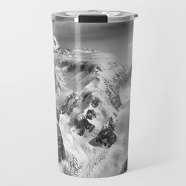 Denali Massif from the Air - Denali & Foraker Travel Mug