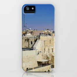 The Wailing Wall iPhone Case