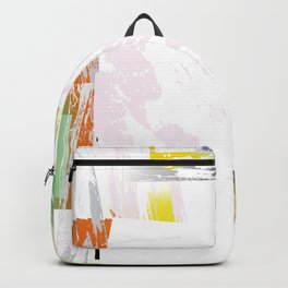 Abstract Border Backpack