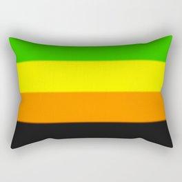 Aromantic Pride Flag Rectangular Pillow