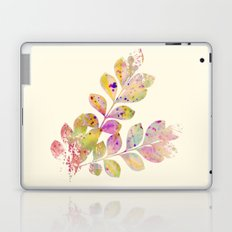 pastel leaves Laptop & iPad Skin