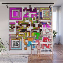Electric Messaging Wall Mural