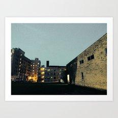 Cityscape #2 Art Print