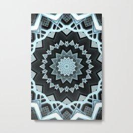 Deco Symmetry Metal Print