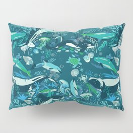Whale song Pillow Sham