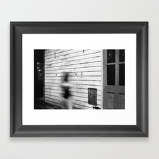 Blurred Out Framed Art Print
