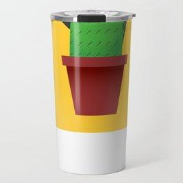 Summer Cactus Travel Mug