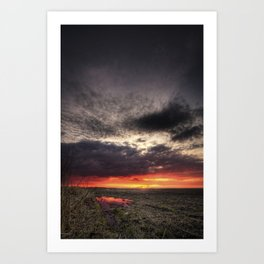 The End With You Art Print