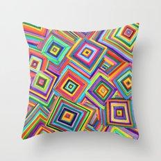 infinite square Throw Pillow
