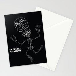 SKELETAL ANATOMY Stationery Cards