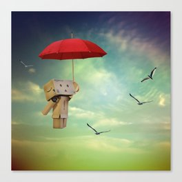 Danbo on tour Canvas Print