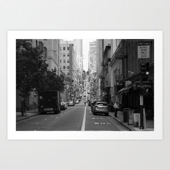 undulating Art Print