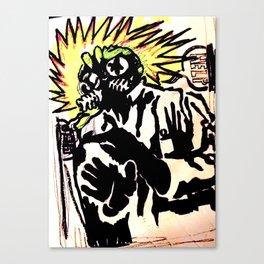 The Shocking Canvas Print