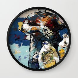 All that Fish can do Wall Clock