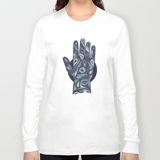The Idle Hand Long Sleeve T-shirt