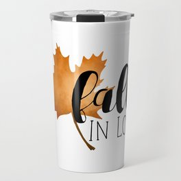 Fall In Love Travel Mug