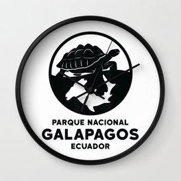 Galapagos National Park Shirt Turtle Hammerhead Shark T-Shirt Wall Clock