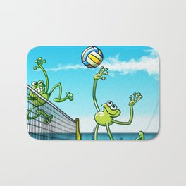 Olympic Volleyball Frog Bath Mat